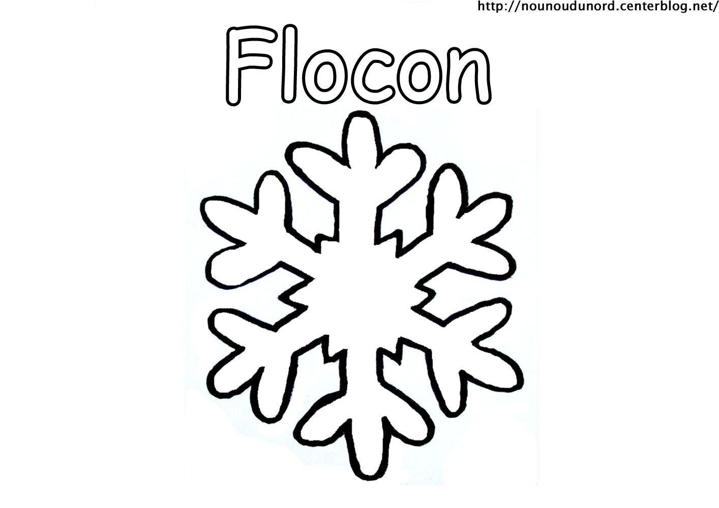 Coloriage noel flocons - Comment dessiner un flocon de neige facile ...