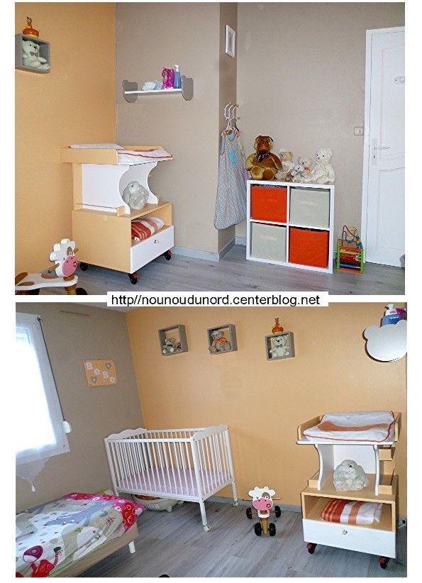 Chambre des bébés décoration nounours