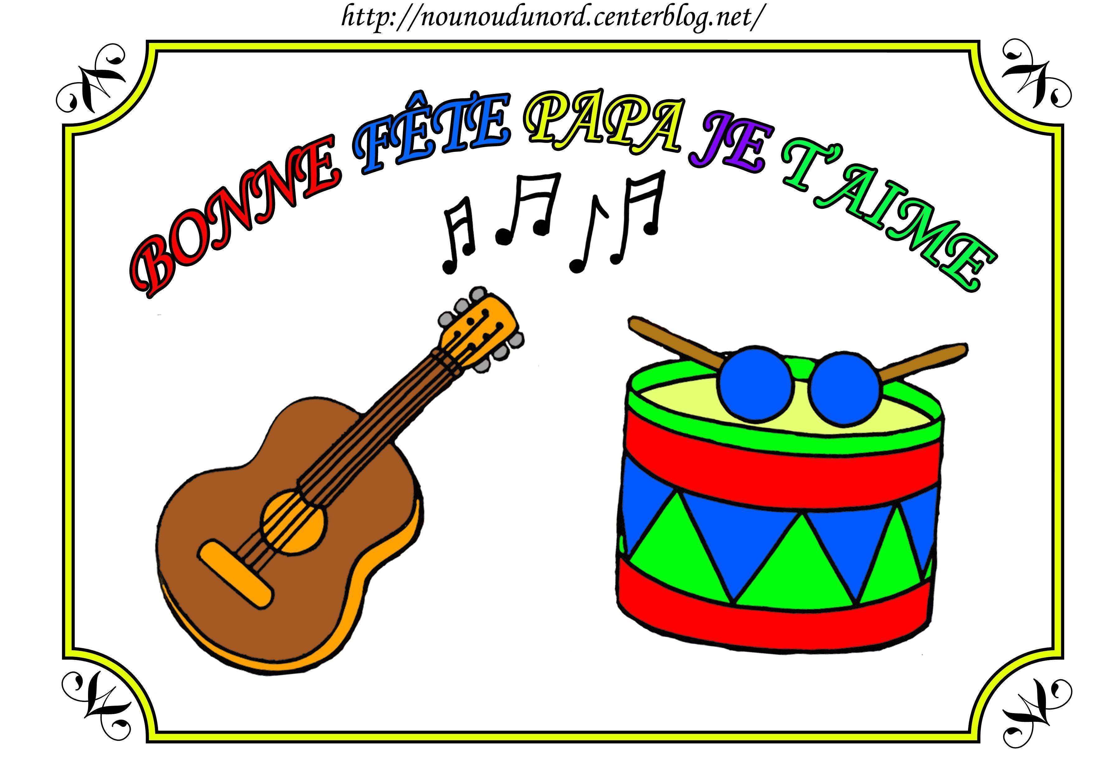 Beau Image A Colorier Fete De La Musique