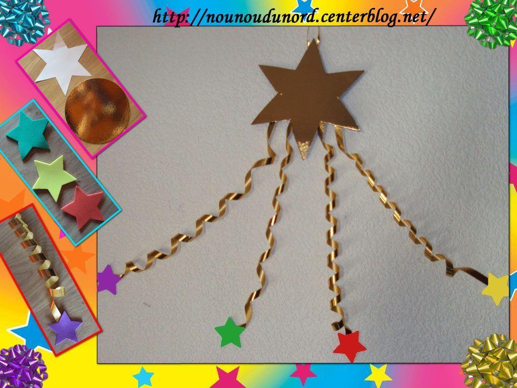 #C4B307 L'étoile Filante Que J'ai Réalisé Pour Ma Déco 5461 décorations de noel maternelle 1024x768 px @ aertt.com