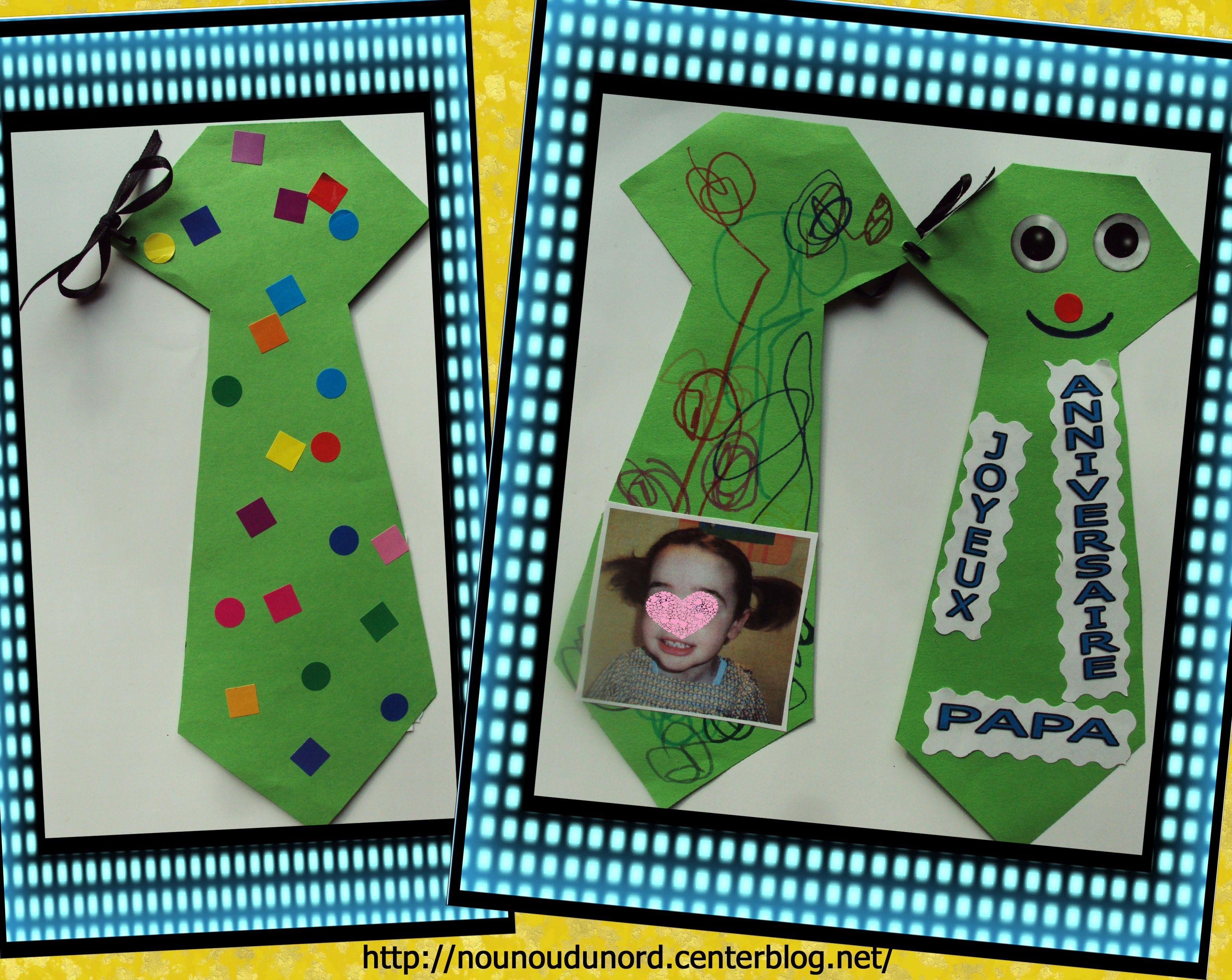Activite anniversaire papa - Activite fete des peres ...