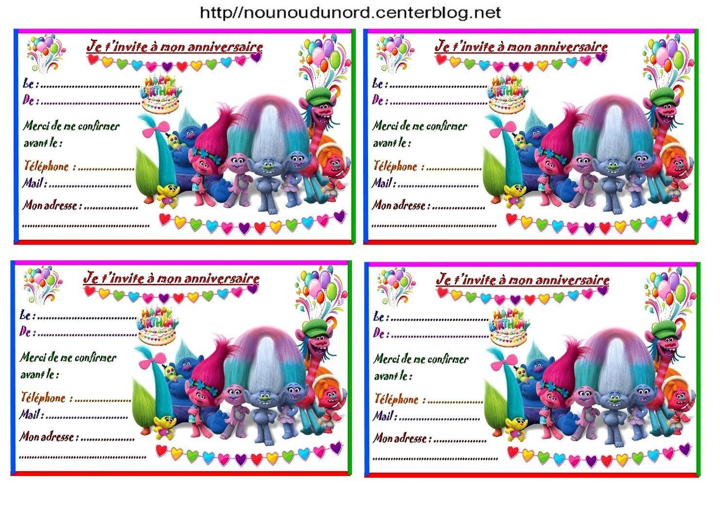 Carte Invitation Anniversaire Pat Patrouille A Imprimer