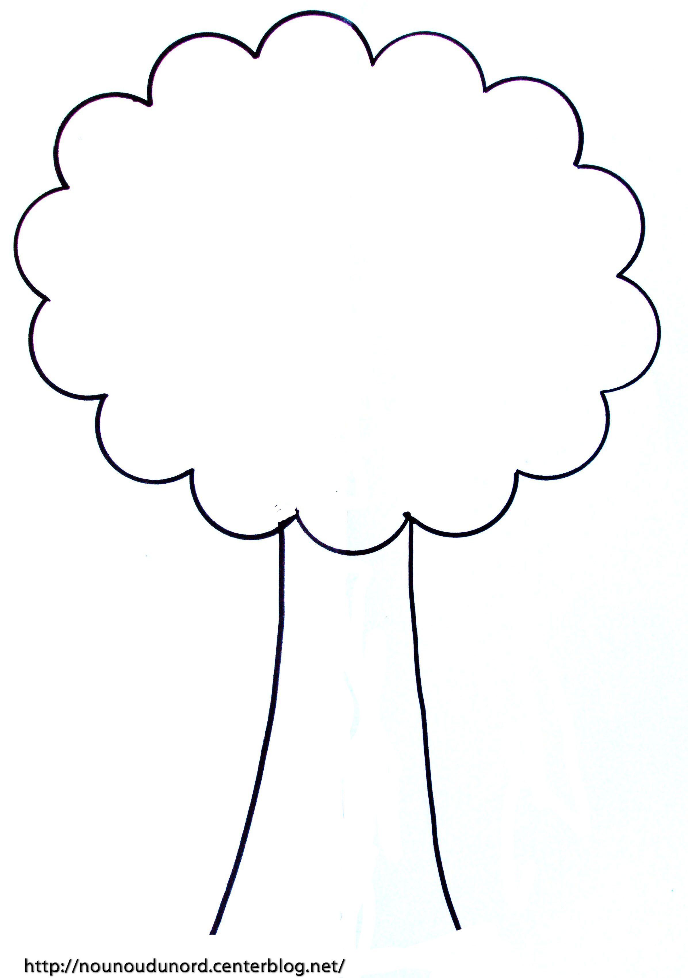Coloriage automne arbe - Arbres dessins ...