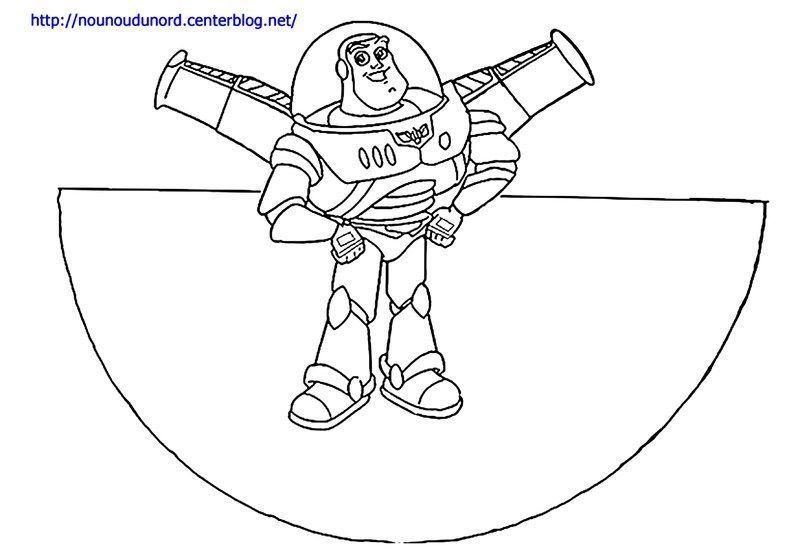 Coloriage cone hero des enfants page 3 - Coloriage buzz a imprimer ...