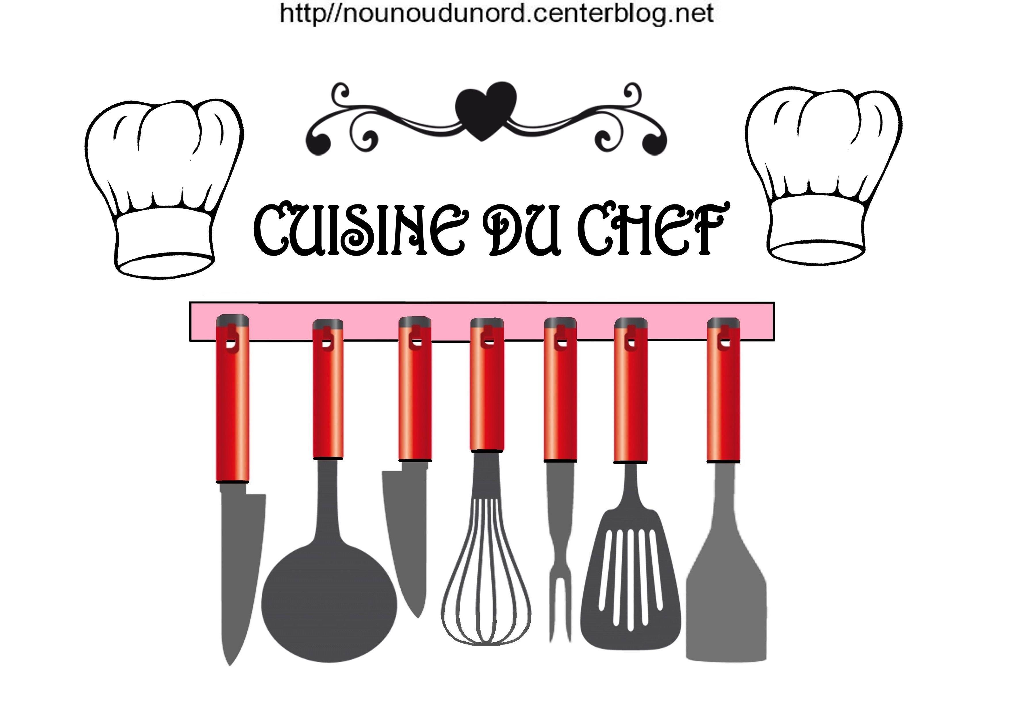 Accessoires De Cuisine Ustensiles Et Toques A Imprimer