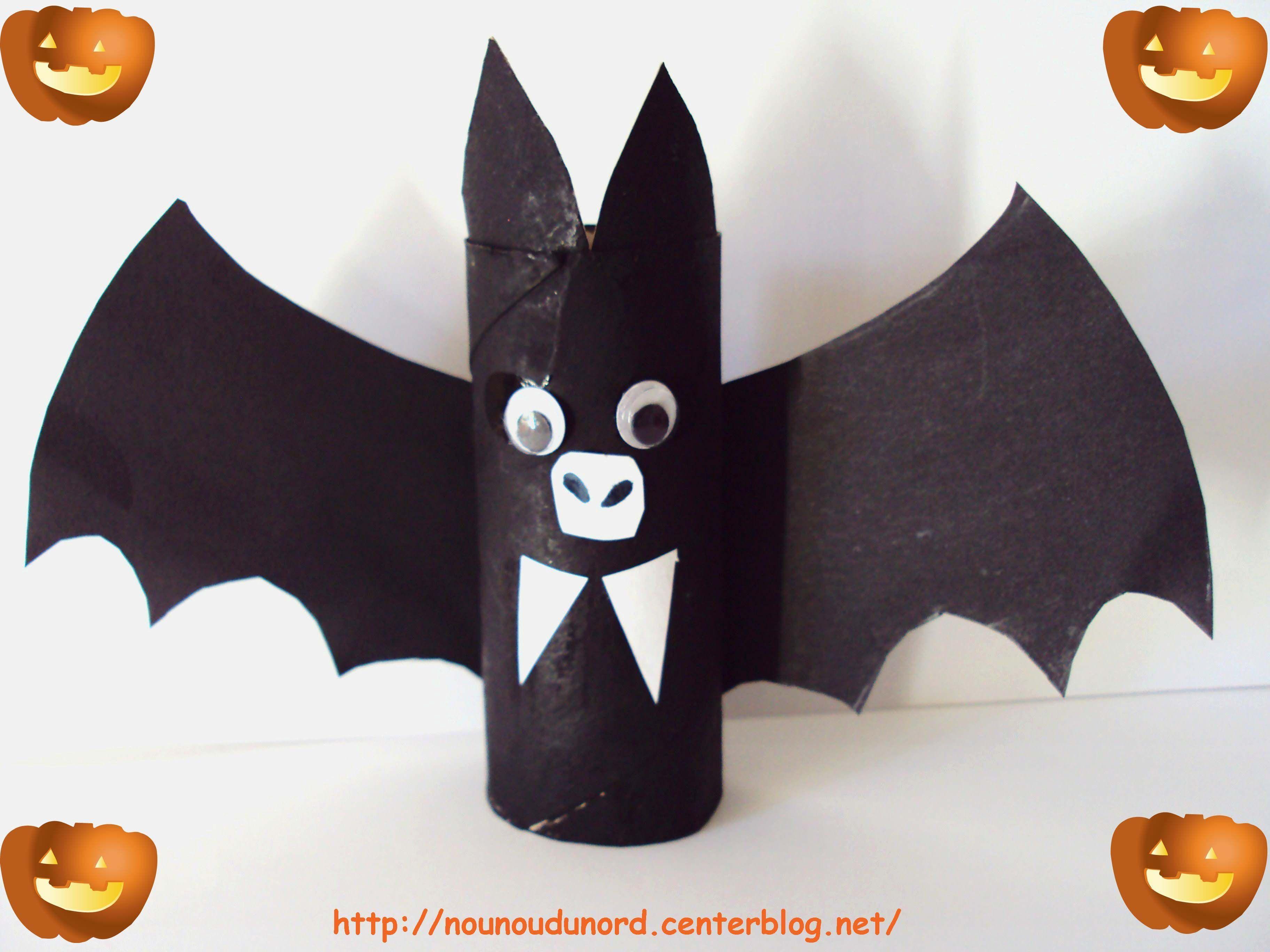 La chauve souris d 39 axelle 2010 - Deco halloween chauve souris ...