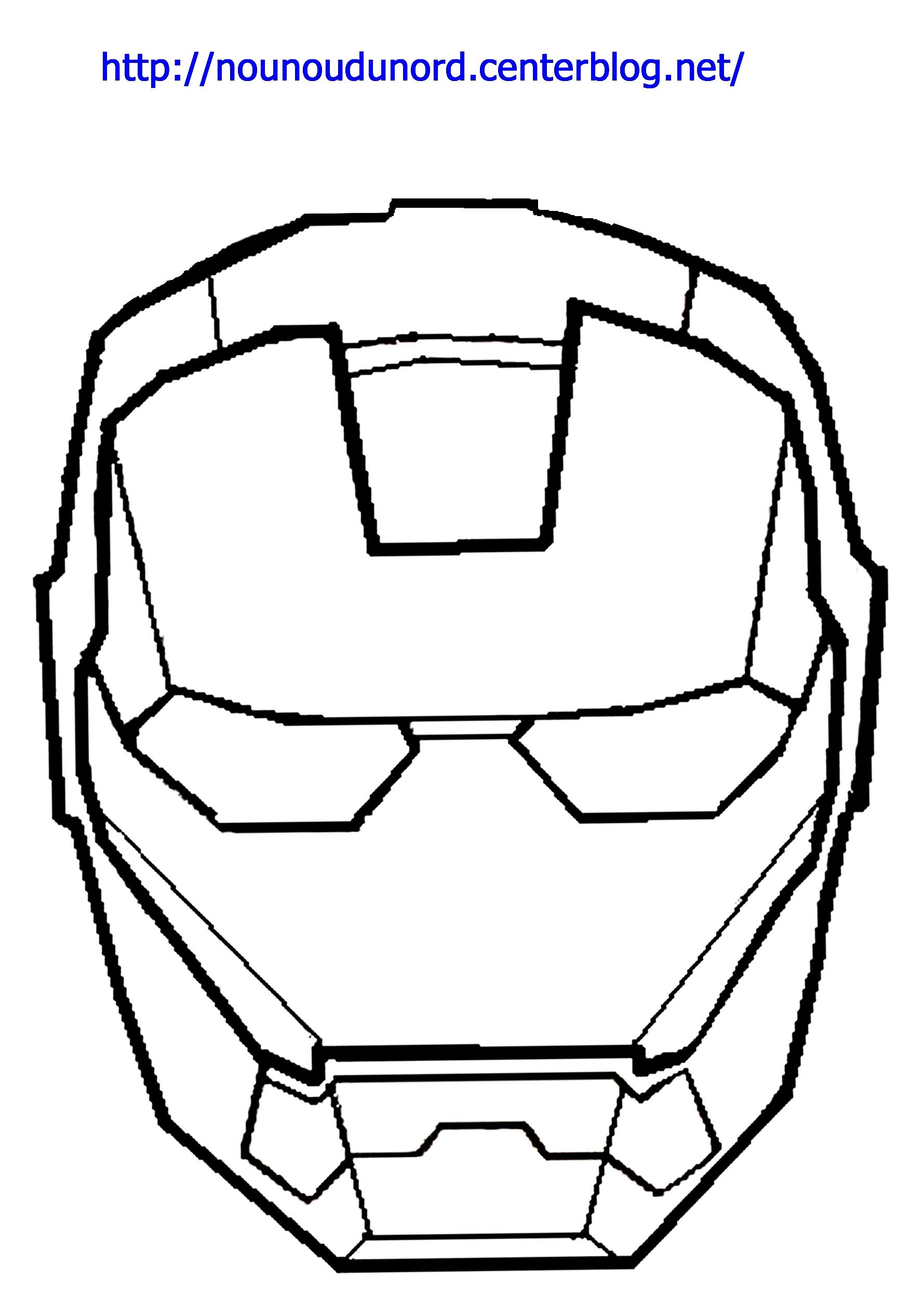 Coloriage iron man dessin par nounoudunord - Dessin avengers facile ...