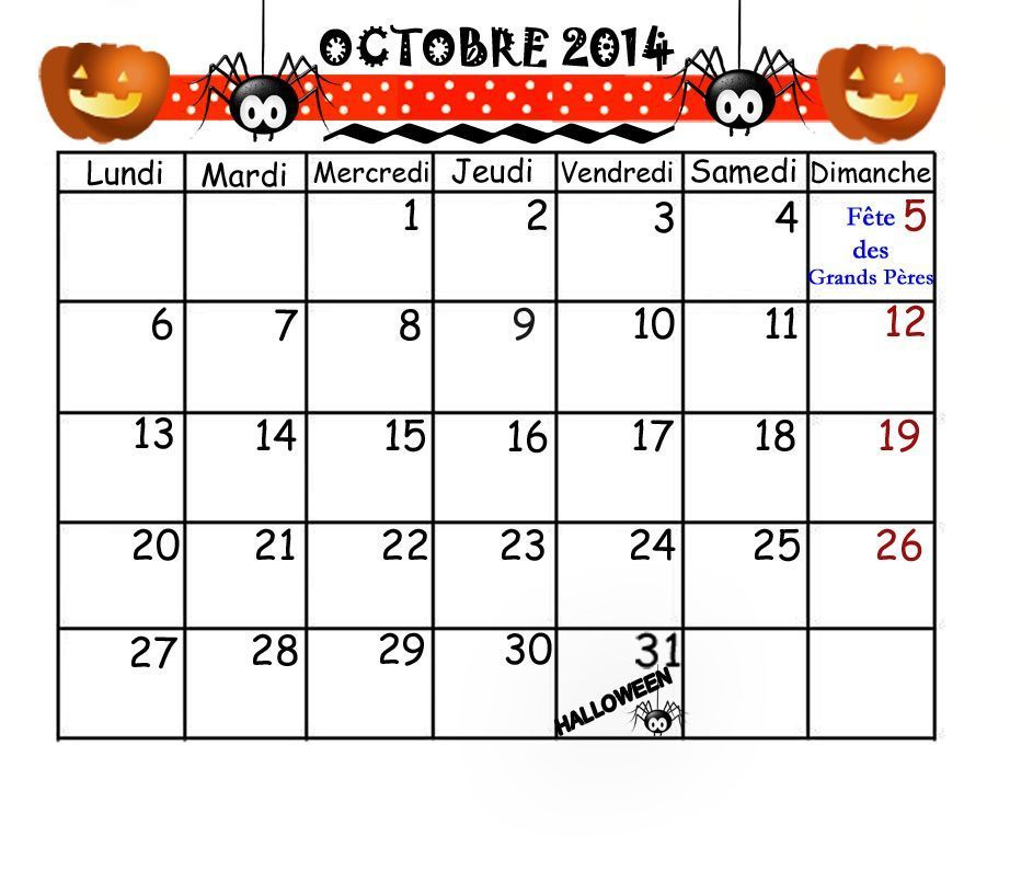 Activite Calendrier 2014 Page 2