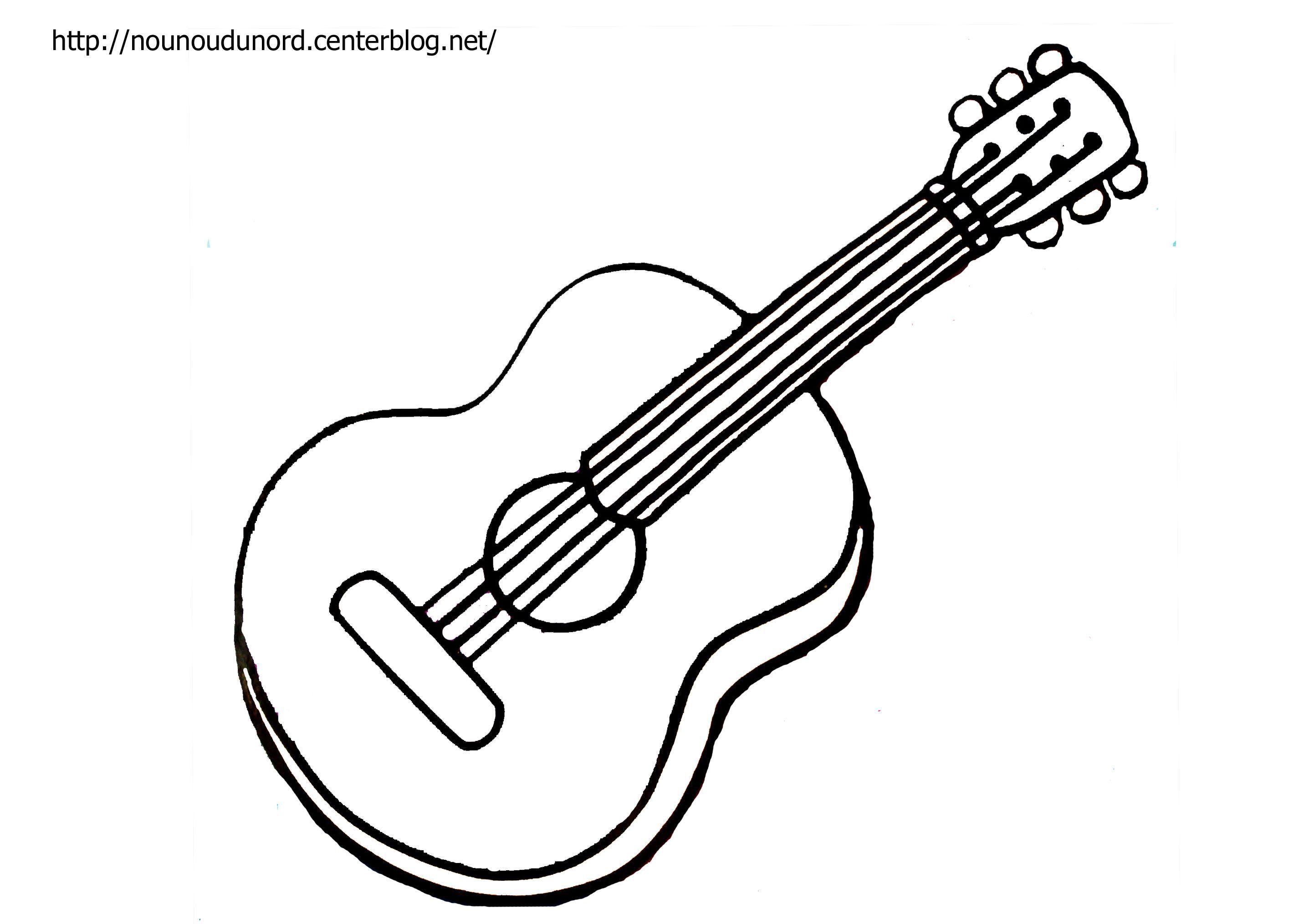Préférence coloriage musique instrument PA96