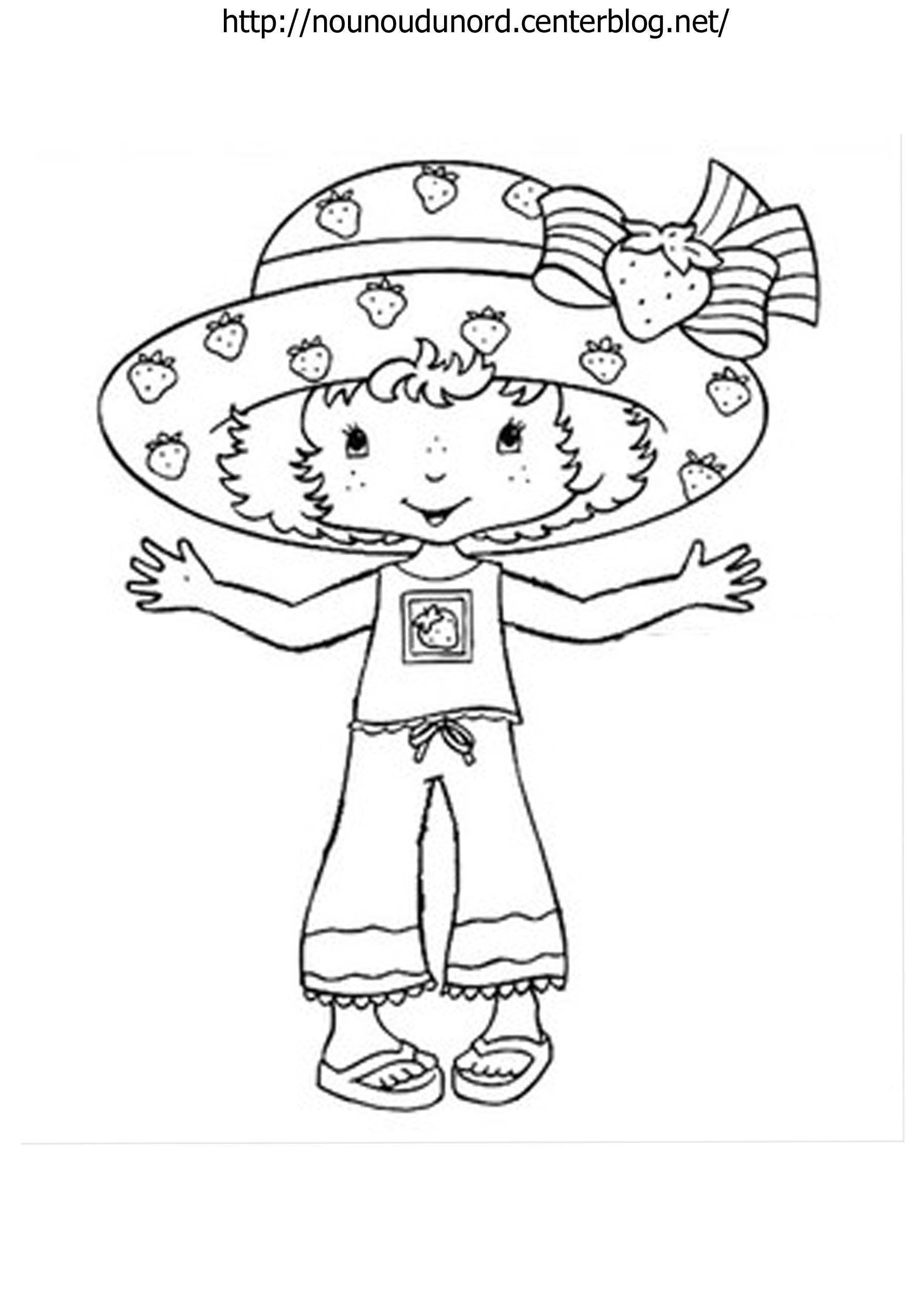 Coloriage charlotte aux fraises dessin par nounoudunord - Dessin charlotte aux fraises ...