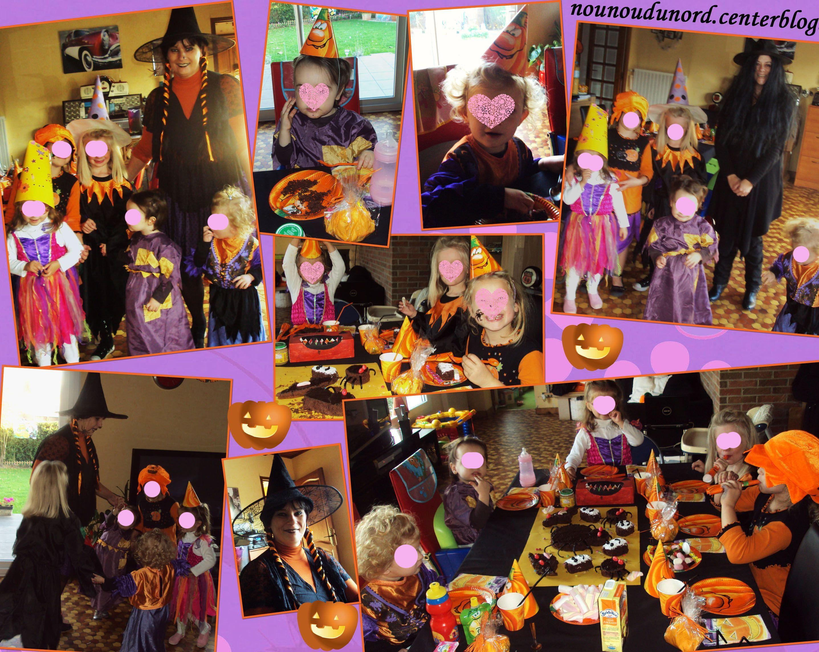 Notre fête dhalloween que nous avons fait le 31/10/2011