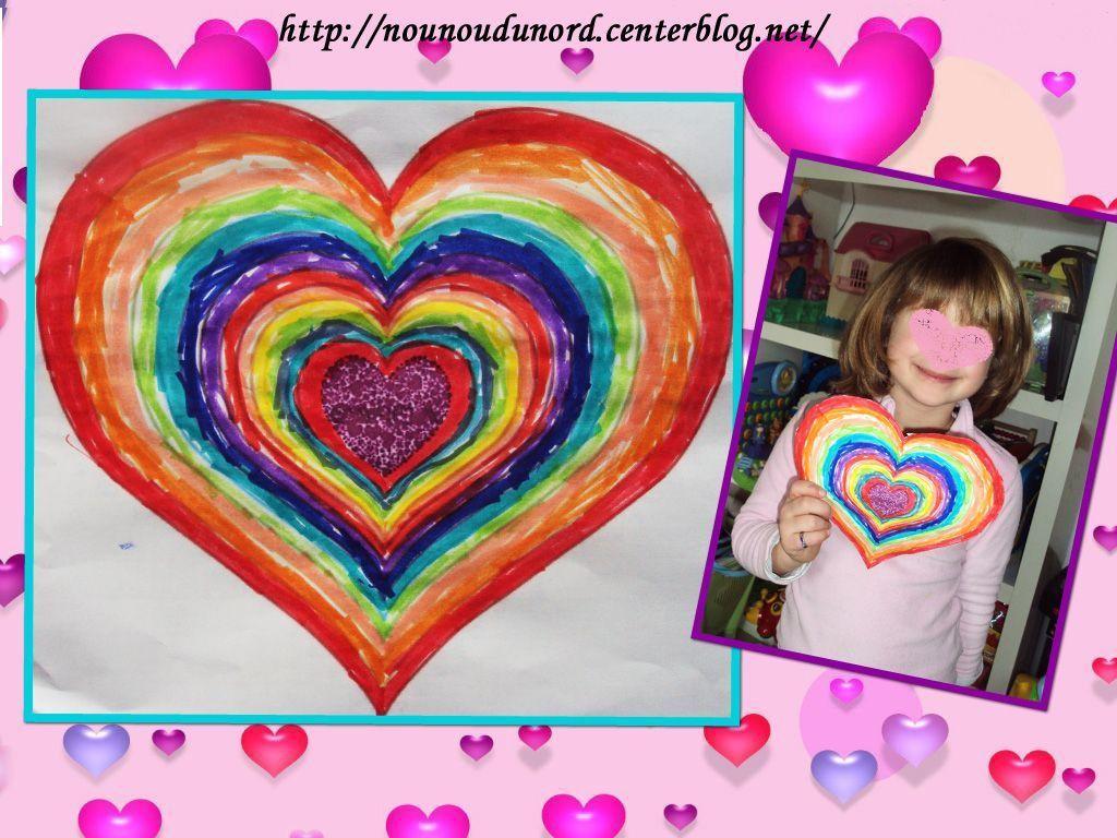 Activite manuelle st valentin - Coeur de st valentin a imprimer ...
