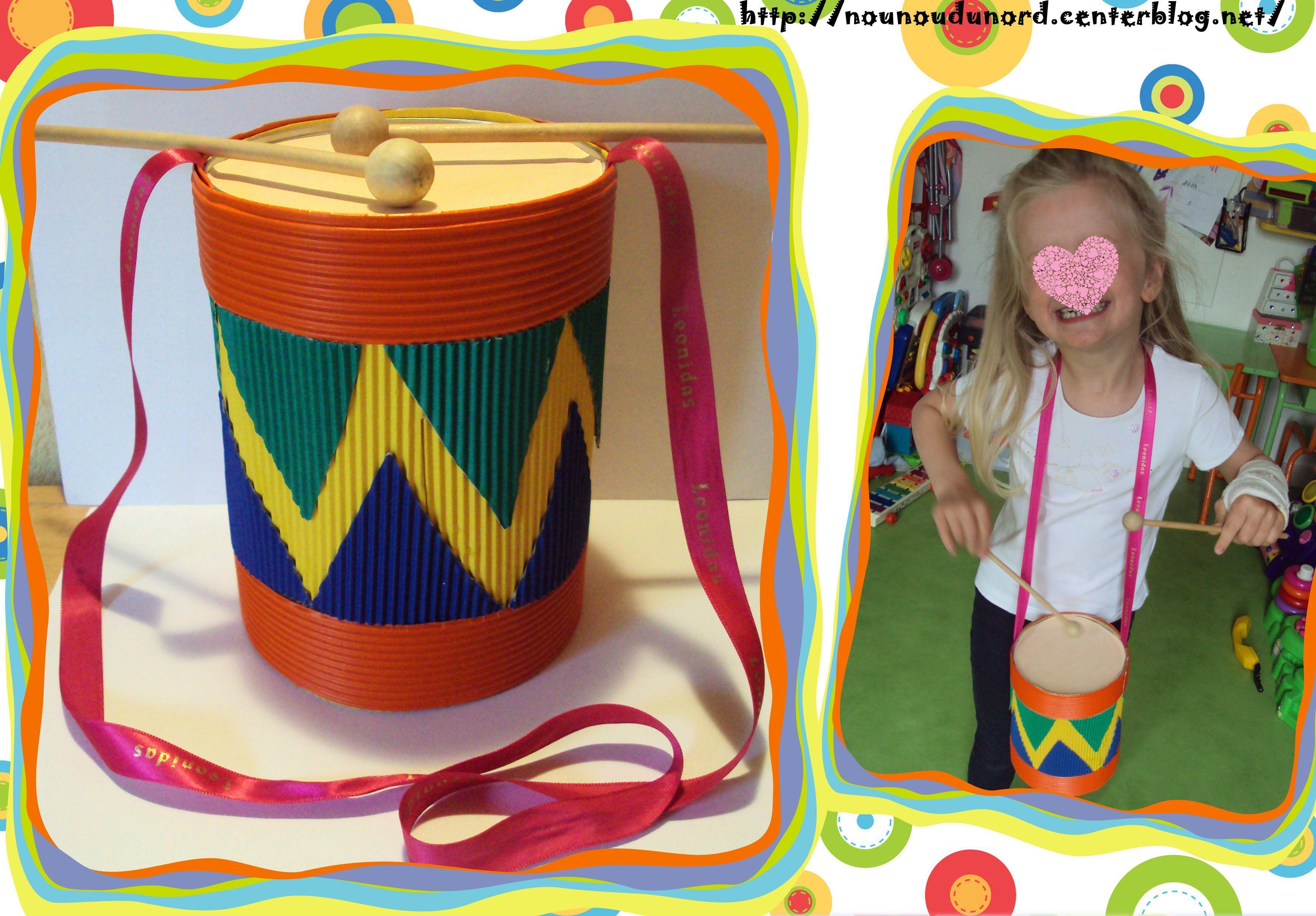 Les maracas - Activite manuelle enfant 4 ans ...