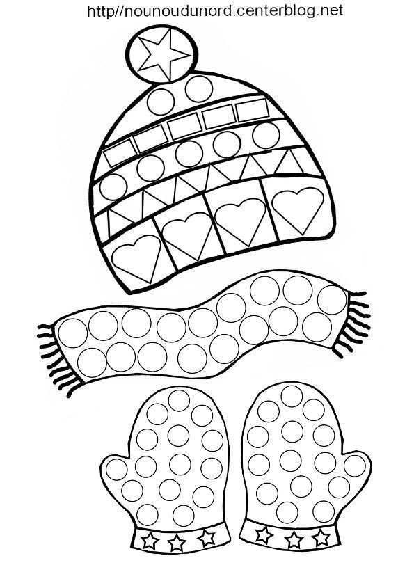 tuques coloring pages - photo#10
