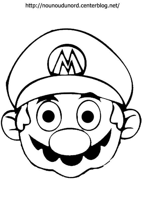 Coloriage Mario Bross Dessine Par Nounoudunord