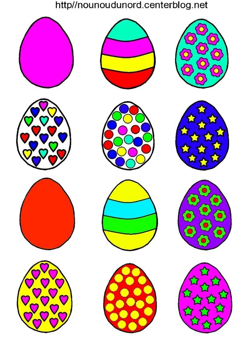 oeuf de paques coloriage paques titi p ques et traditions on pinterest easter easter eggs. Black Bedroom Furniture Sets. Home Design Ideas