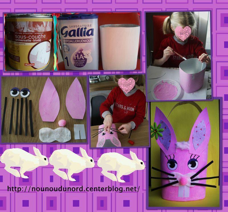 Connu Panier de Pâques lapin tout rose *2013* SV28