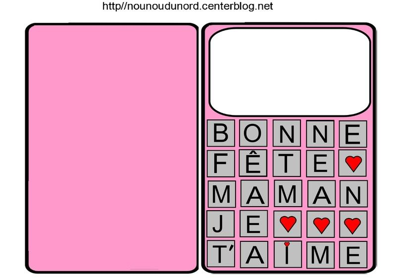 Poemes gifs coloriages fete des meres - Carte fete des meres a imprimer ...