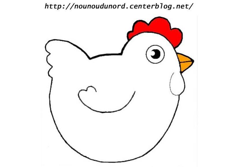 Image paques - Dessin de poules ...