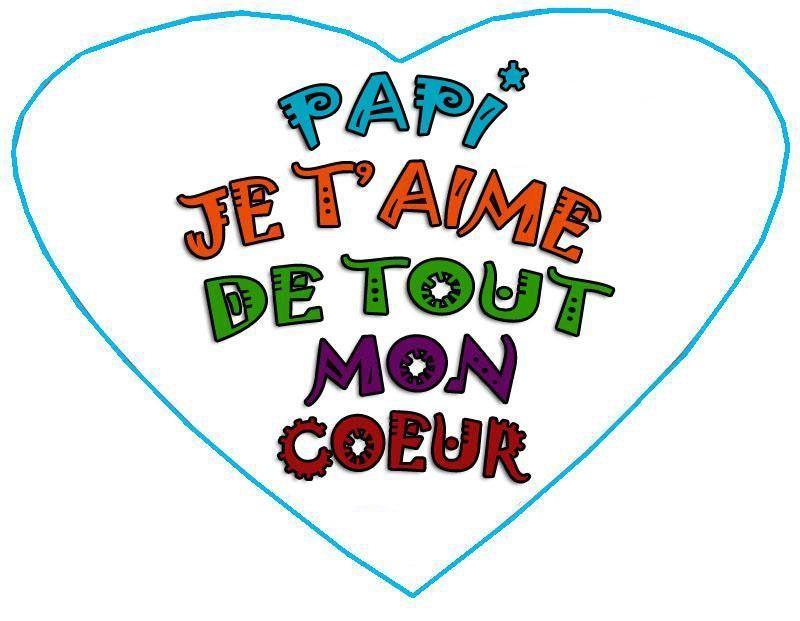 Coloriage fete des peres poemes gif - Bon anniversaire papi ...