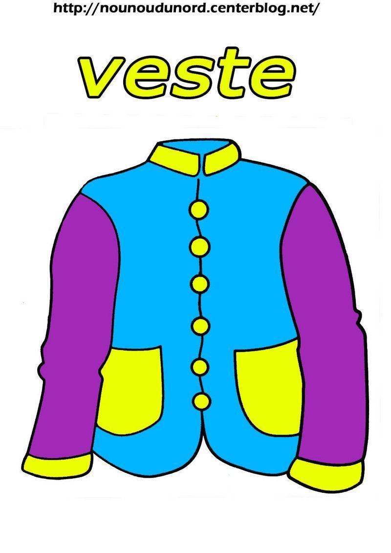 veste en couleur